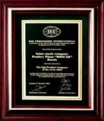Egg Processors International Award 2003<